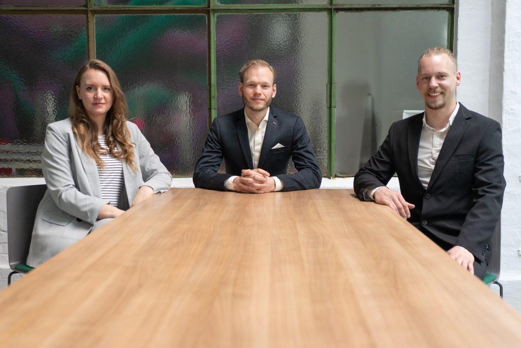 Das Team von LB.systems Heidermann, Bartels, Block